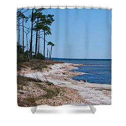 Gulf Island National Seashore 2 Shower Curtain