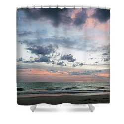 Gulf Of Mexico Sunset Shower Curtain