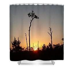 Gulf Shores Sunset Shower Curtain