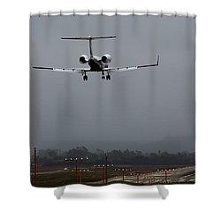 Gulfstream Approach Shower Curtain