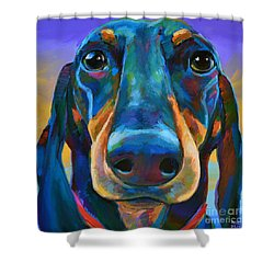 Gus Shower Curtain by Robert Phelps