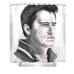 Guy Boucher Shower Curtain by Murphy Elliott