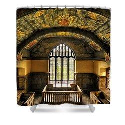 Gwydir Uchaf Chapel Conwy Valley Shower Curtain by Mal Bray