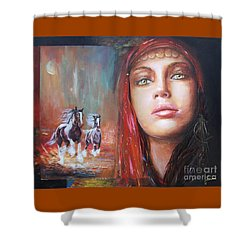 Gypsy Beauty Shower Curtain