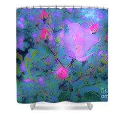 Gypsy Rose - Flora - Garden Shower Curtain