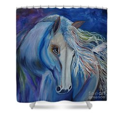 Gypsy Shadow Shower Curtain
