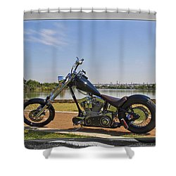 H-d_a Shower Curtain