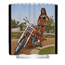 H-d_c Shower Curtain