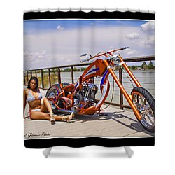 H-d_d Shower Curtain