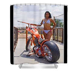 H-d_d1 Shower Curtain