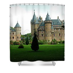 Haar Castle Shower Curtain