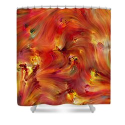 Habakkuk 2 3. The Patience To Wait For The Vision Shower Curtain by Mark Lawrence