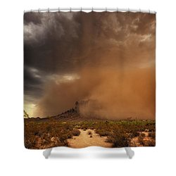 Haboob Is Coming Shower Curtain