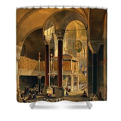 Haghia Sophia, Plate 8 The Imperial Shower Curtain by Gaspard Fossati