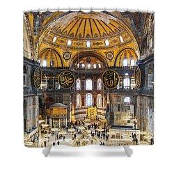 Hagia Sofia Interior 35 Shower Curtain