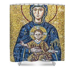 Hagia Sofia Mosaic 05 Shower Curtain