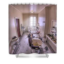 Hair Dressing Room At Fordyce Bath House - Hot Springs - Arkansas Shower Curtain