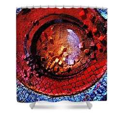 HAL Shower Curtain by Skip Hunt