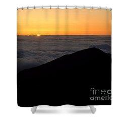 Haleakala Sunrise Shower Curtain by Benjamin Reed