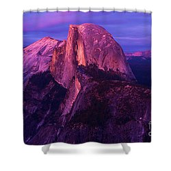 Half Dome Glow Shower Curtain