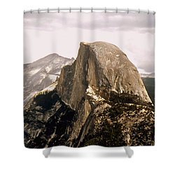 Half Dome Shower Curtain by Kathleen Struckle