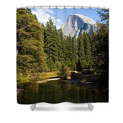 Half Dome Yosemite National Park Shower Curtain