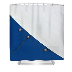 Half Pipe Abstract 4 Shower Curtain