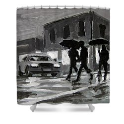Halifax Untitled Number Five  Shower Curtain by John Malone