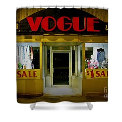 Halifax Vogue Shower Curtain by John Malone