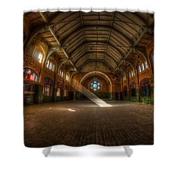 Hall Beam Shower Curtain