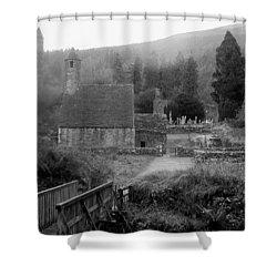 Hallowed Ground Shower Curtain by Tim Townsend