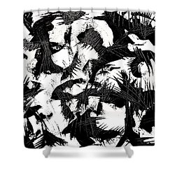 Halloween Calling Shower Curtain by Expressionistart studio Priscilla Batzell