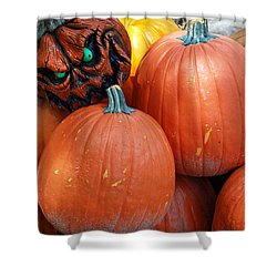 Halloween Goblin Shower Curtain