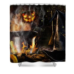 Halloween' Spirit Shower Curtain