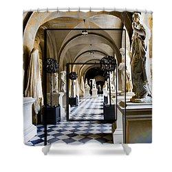 Halls Of Versailles Paris Shower Curtain