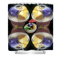 Halo Halo Desert Shower Curtain