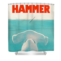 Hammer Shower Curtain by Eric Fan