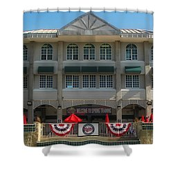 Hammond Stadium Shower Curtain