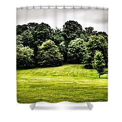 Hampstead Heath Greens Shower Curtain