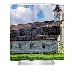Shower Curtain featuring the photograph Hana Church 4 by Dawn Eshelman