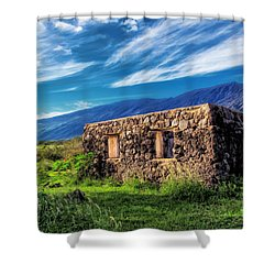 Hana Church 6 Shower Curtain
