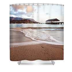 Hanalei Dawn - Kauai, Hawaii Shower Curtain