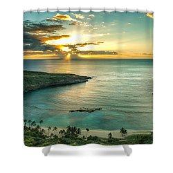 Hanauma Bay 1 Shower Curtain