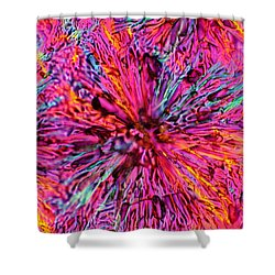Poppies Of Doom Shower Curtain