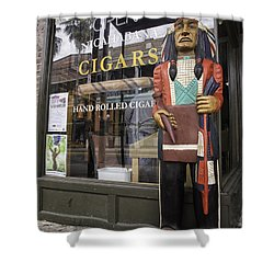 Hand Rolled Cigars Shower Curtain