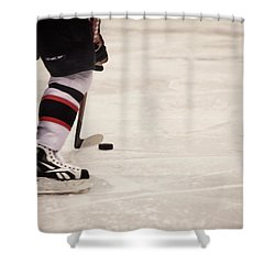 Handle It Shower Curtain by Karol Livote