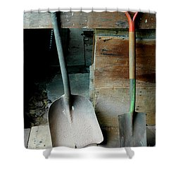 Shower Curtain featuring the photograph Handled And Raked by Christiane Hellner-OBrien
