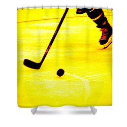 Handling It Shower Curtain by Karol Livote
