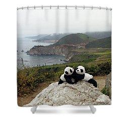 Shower Curtain featuring the photograph Hang On- You Got A Friend by Ausra Huntington nee Paulauskaite