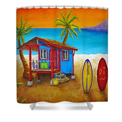 Hangin Loose Shower Curtain by Pamela Allegretto